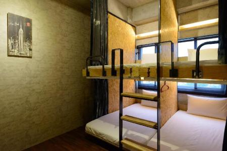 1 Person in Dormitory - Female Only Hualien Wow Hostel
