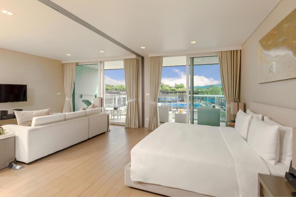 1 Bedroom Suite With Kitchenette - Bed Angsana Villas Resort Phuket