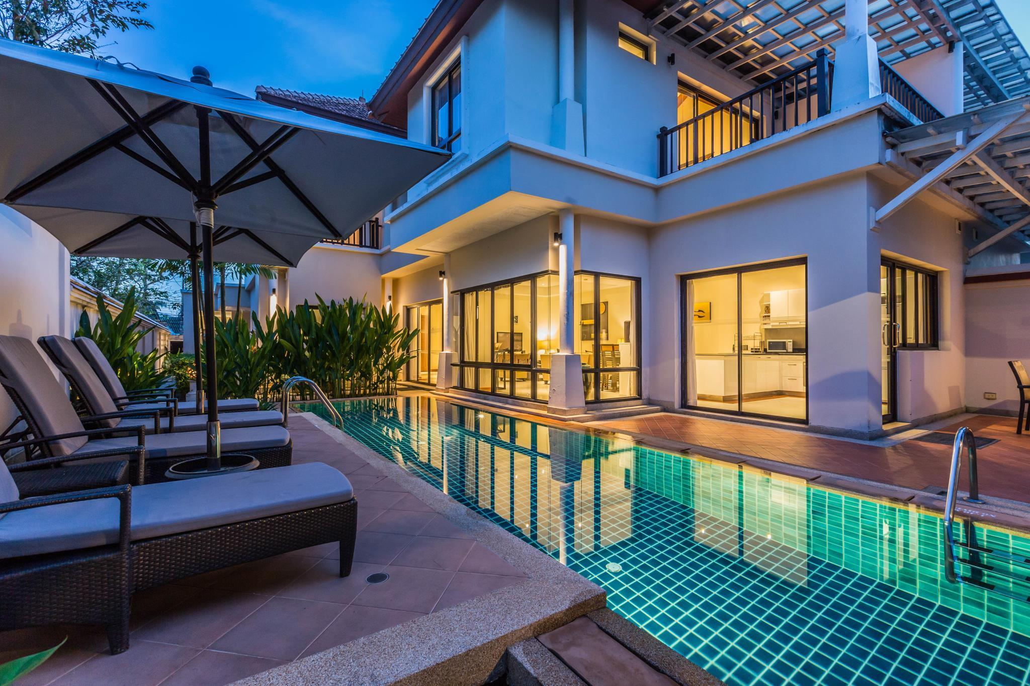3-Bedroom Lagoon View Pool Villa