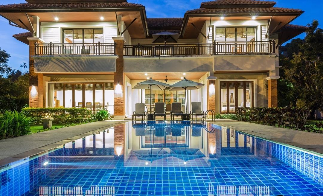 4-Bedroom Lagoon View Pool Villa