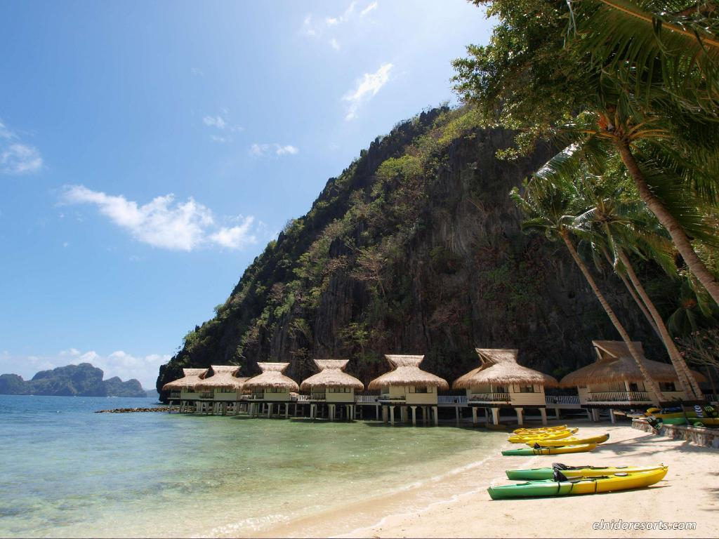 Beach El Nido Resorts Miniloc Island