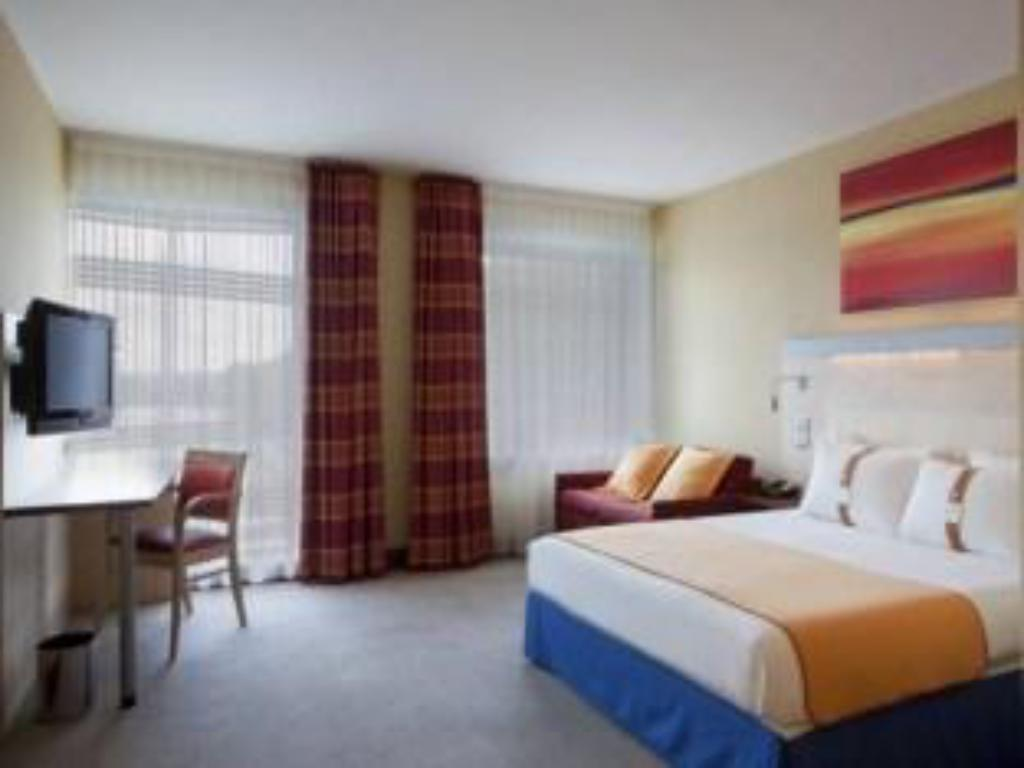 1 Bedroom Accessible Roll In Shower Non-Smoking - 客房 巴黎迦納爾德拉維萊特智選假日飯店 (Holiday Inn Express Paris-Canal De La Villette)