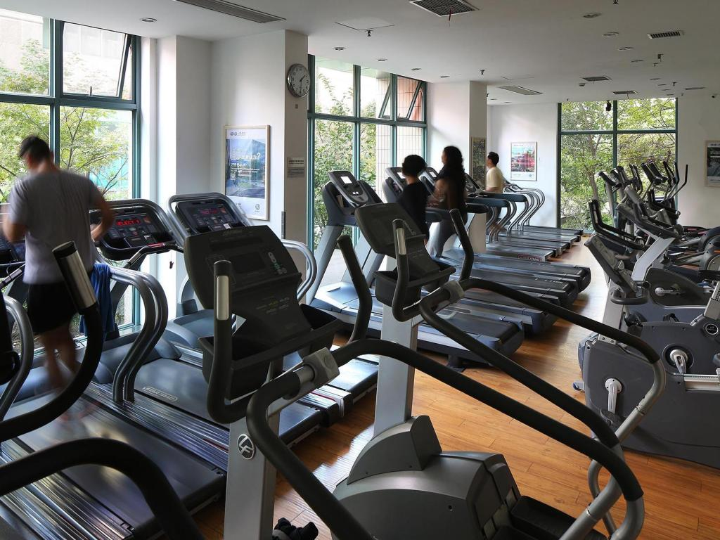 gym Metropark Service Apartment Shanghai