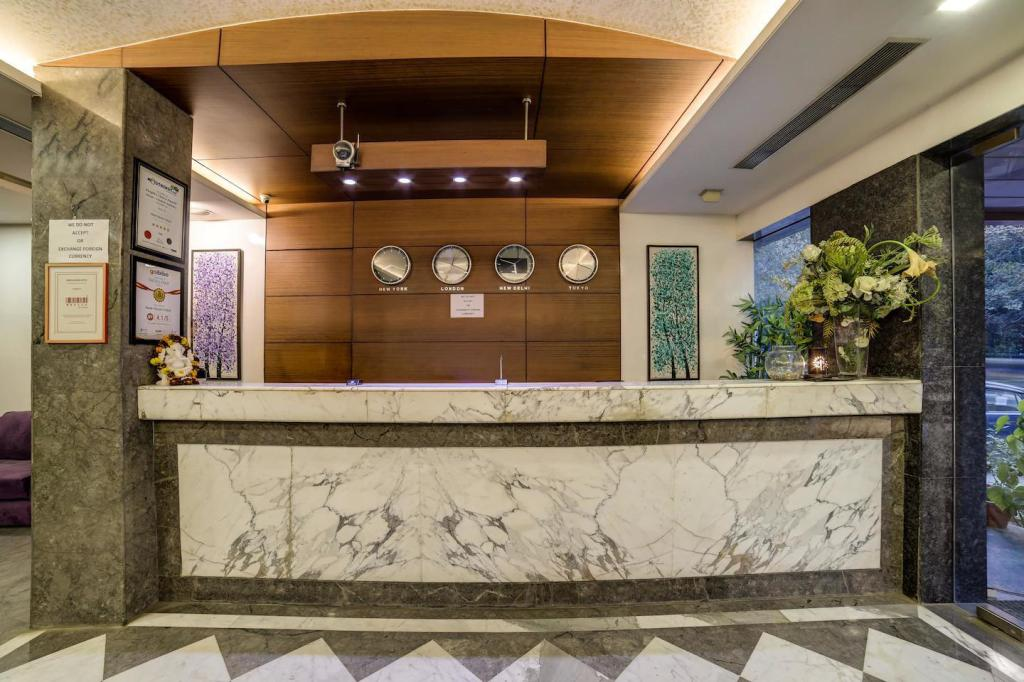 Lobby New Haven Hotel Greater Kailash