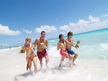 Пляж Sandos Playacar Beach Resort - All Inclusive