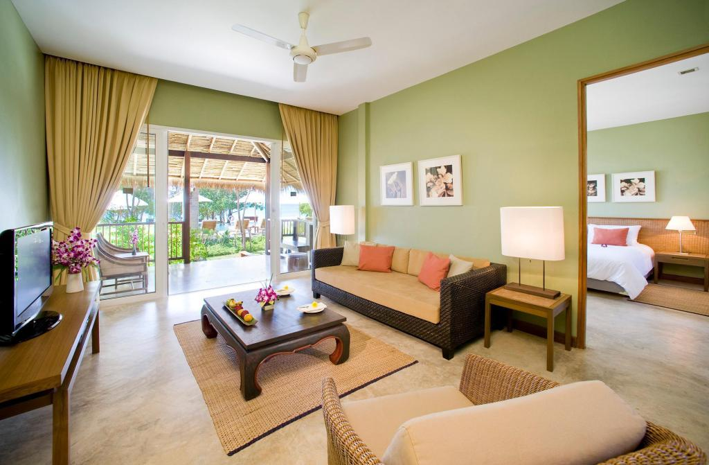 Tropical Suite Room - Bed Centara Chaan Talay Resort & Villas