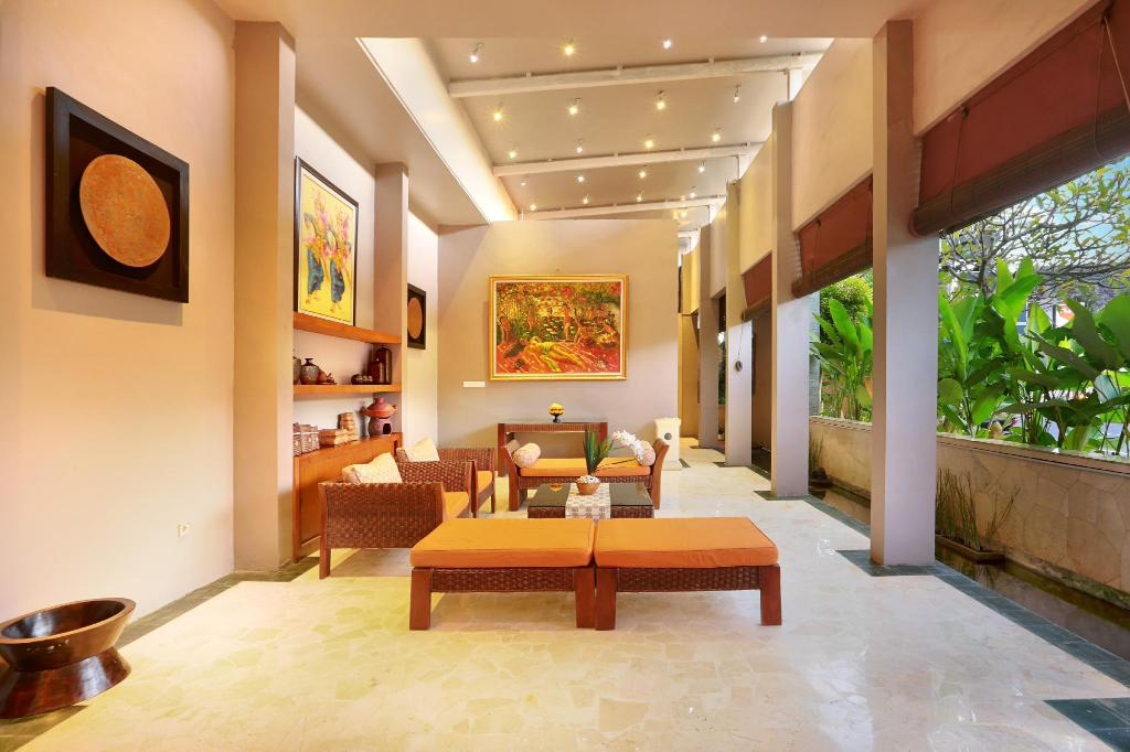 Lobby Bhavana Private Villas