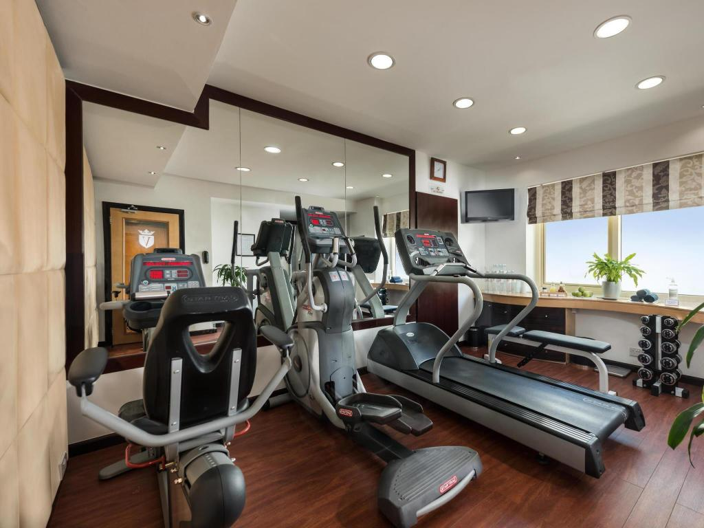 fitness center Savoy Suites Hotel Apartments