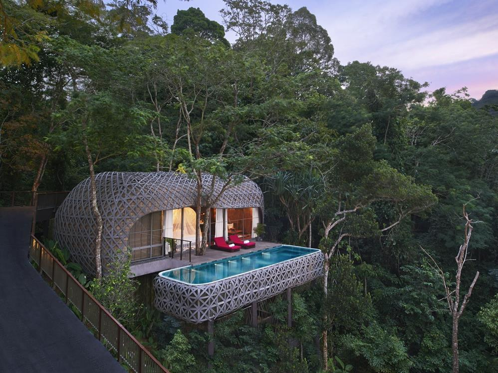 Bird's Nest Villa with Private Pool