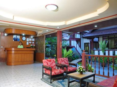 Lobby Island View Bungalows