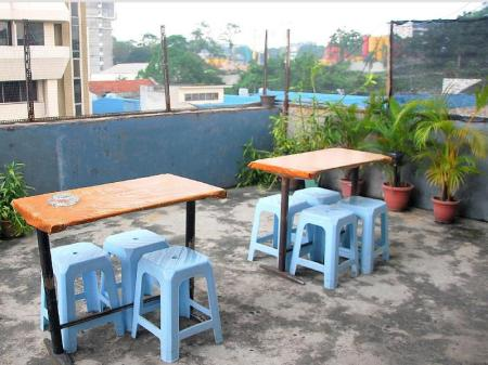 Kedai Kopi/Kafe The Original Backpackers Travellers Inn