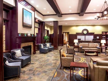 Лобби Sheraton Baltimore Washington Airport Hotel - BWI