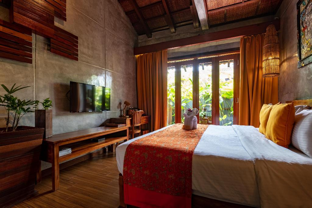 Superior Garden View Room with Rainshower - Bed Ipoh Bali Hotel