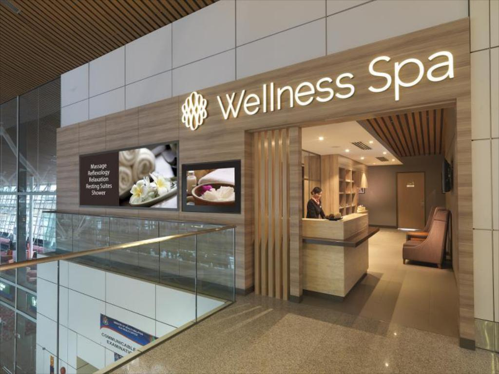 Spa wellness  Das Plaza Premium Lounge (Wellness Spa - KLIA) - Private Suite in ...