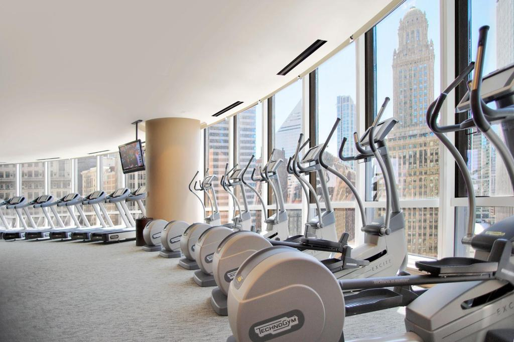 centre de fitness Trump International Hotel & Tower