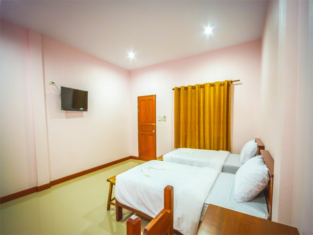 Hotellet indefra Banyang Resort