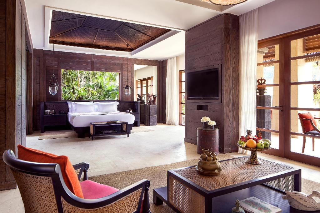 Reserve Suite, 1 Bedroom Suite, 1 King or 2 Queen, Balcony - Apartmá Mandapa A Ritz-Carlton Reserve Hotel