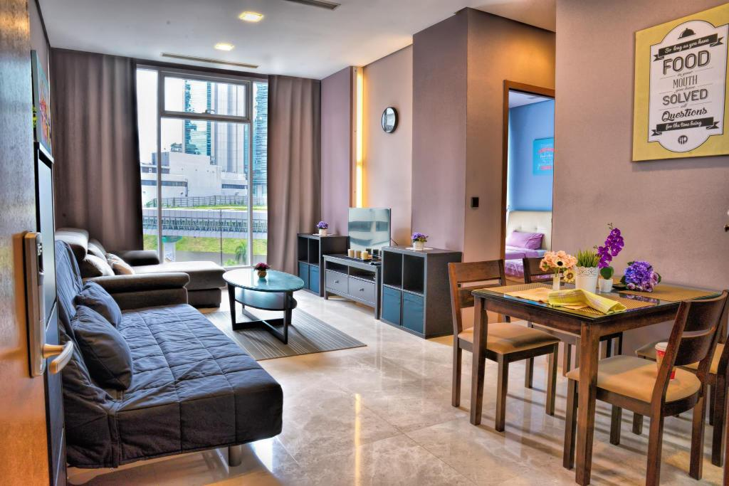2 Bedroom Apartment Deluxe VIPOD Suites KLCC by Luxury Suites Asia