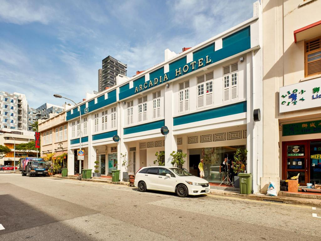 More about Arcadia Hotel (SG Clean Certified)