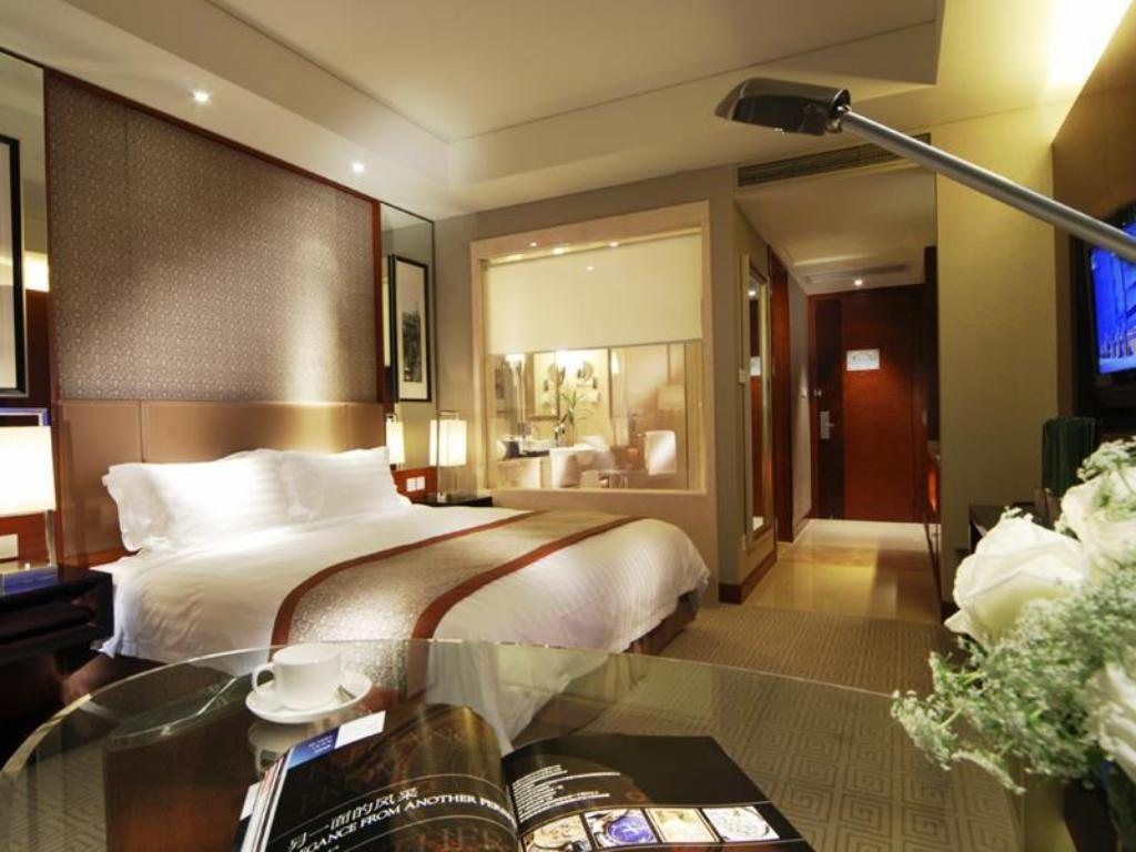 Deluxe - Quarto de hóspedes Howard Johnson Caida Plaza Shanghai