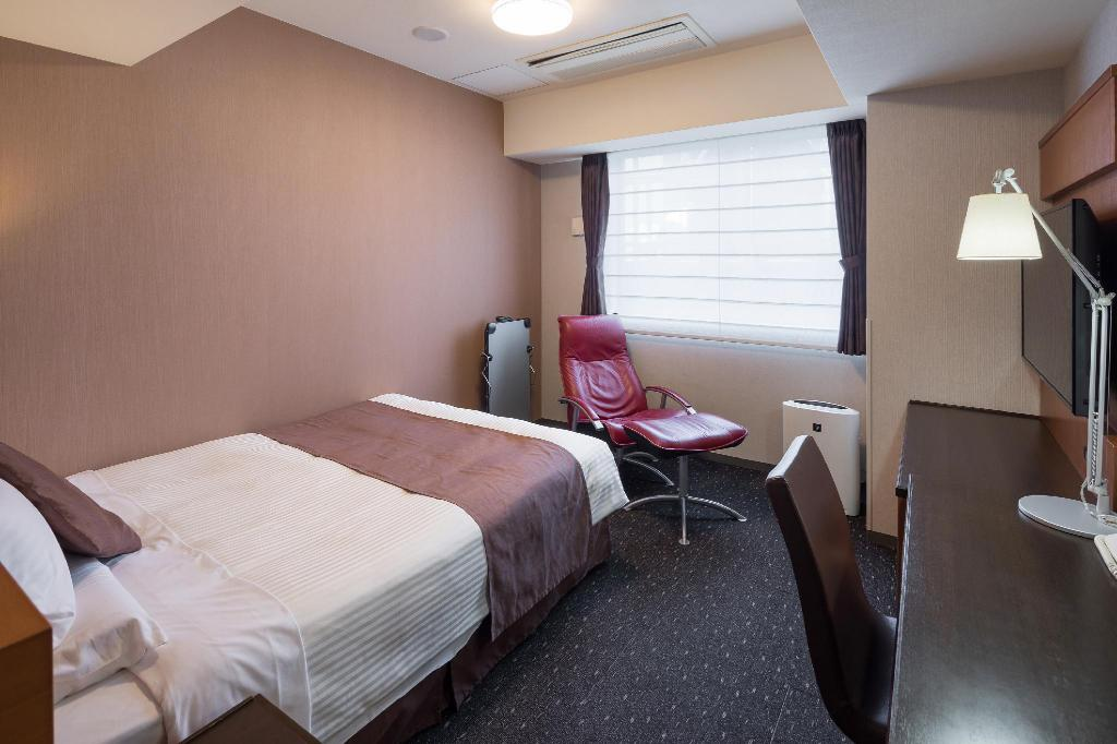 Standard Double - Non-Smoking - Room plan HOTEL MYSTAYS Kyoto-Shijo