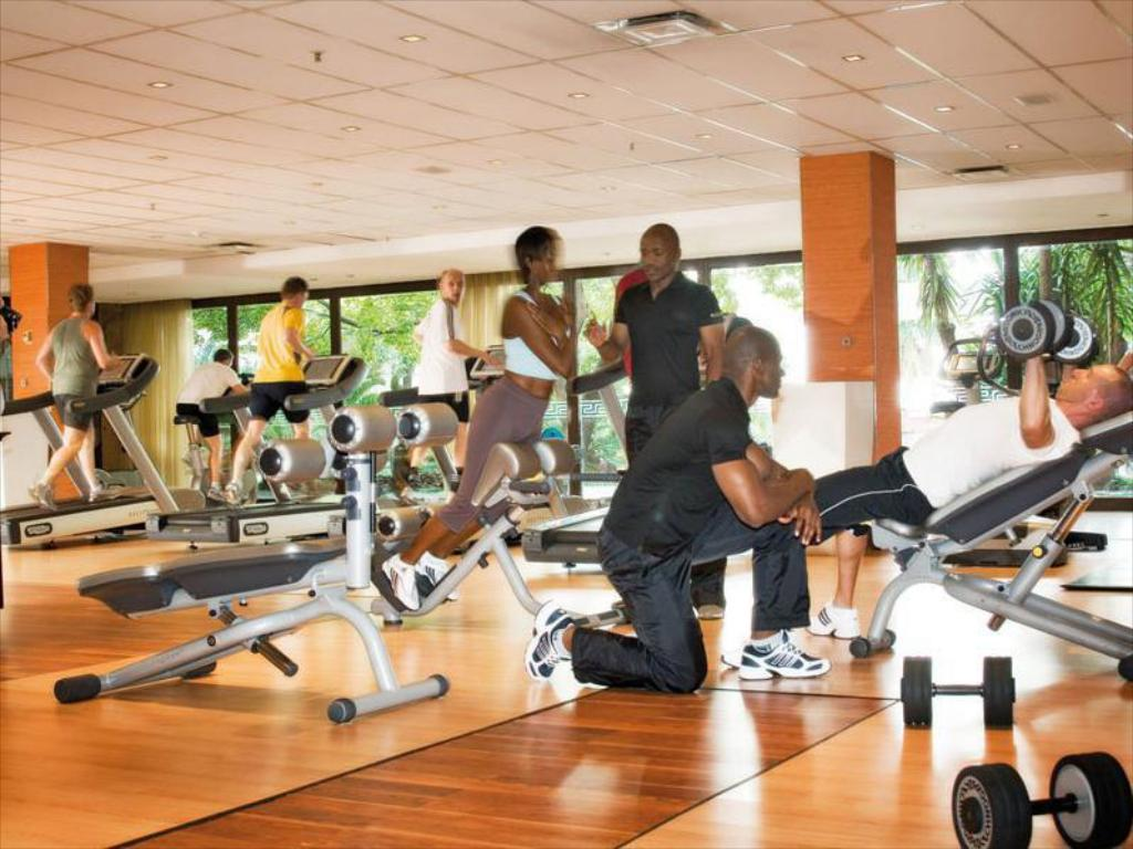 Centre de fitnes Intercontinental Johannesburg Sandton Towers
