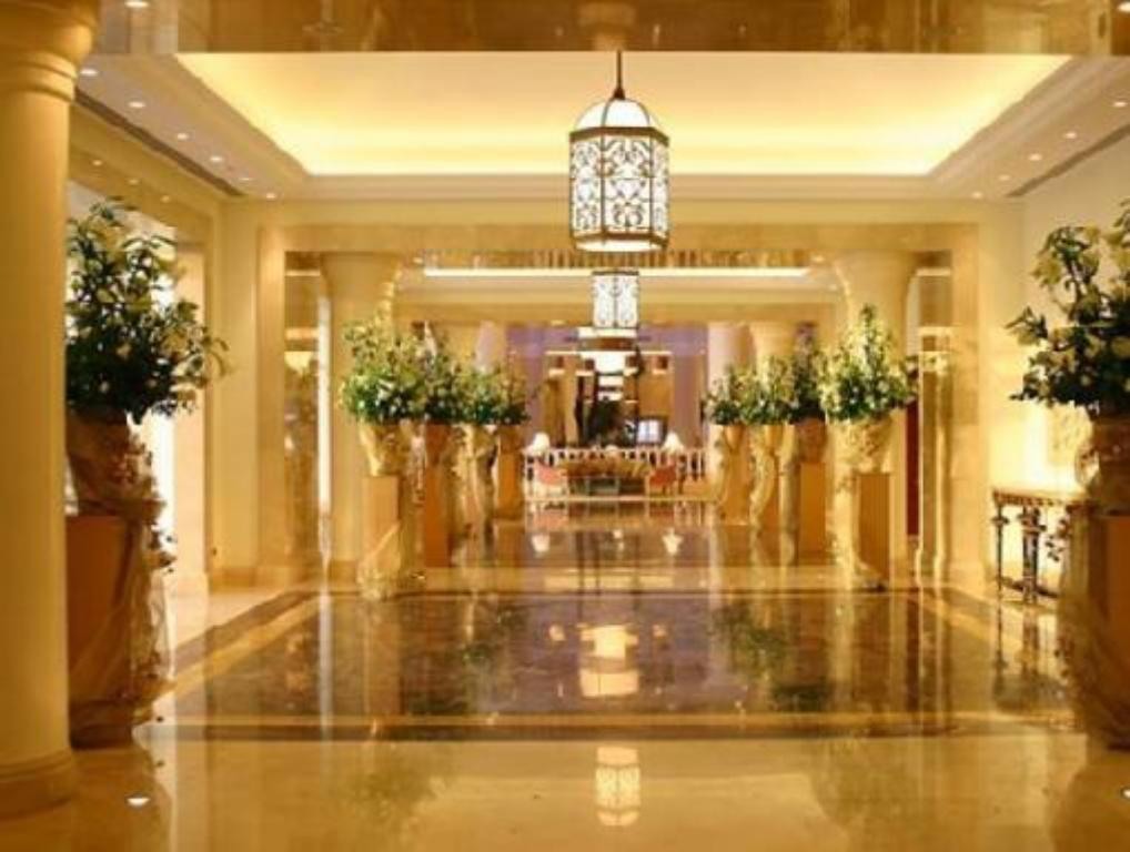 Hotellet indefra JW Marriott Hotel Cairo