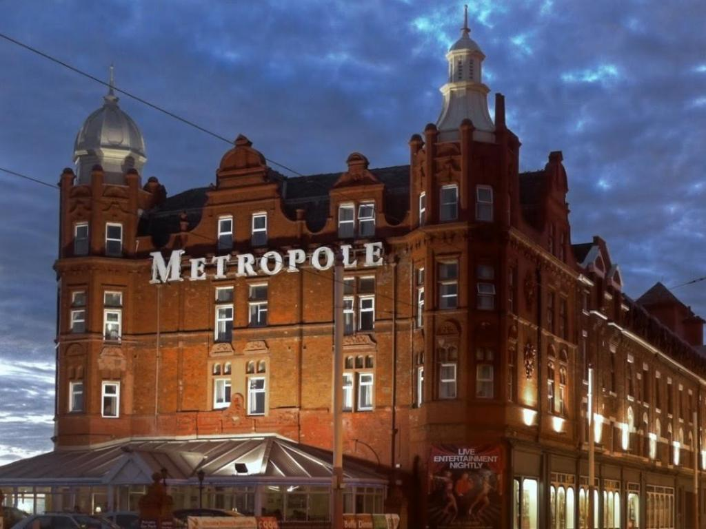 More About Grand Metropole Blackpool Town Centre Hotel