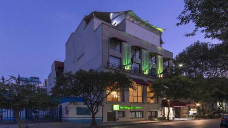 Экстерьер Holiday Inn Hotel & Suites Mexico Zona Rosa