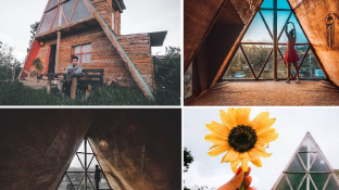 Hideout Cabins | The First Light A-Frame