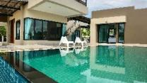 Garden view pool villa pattaya
