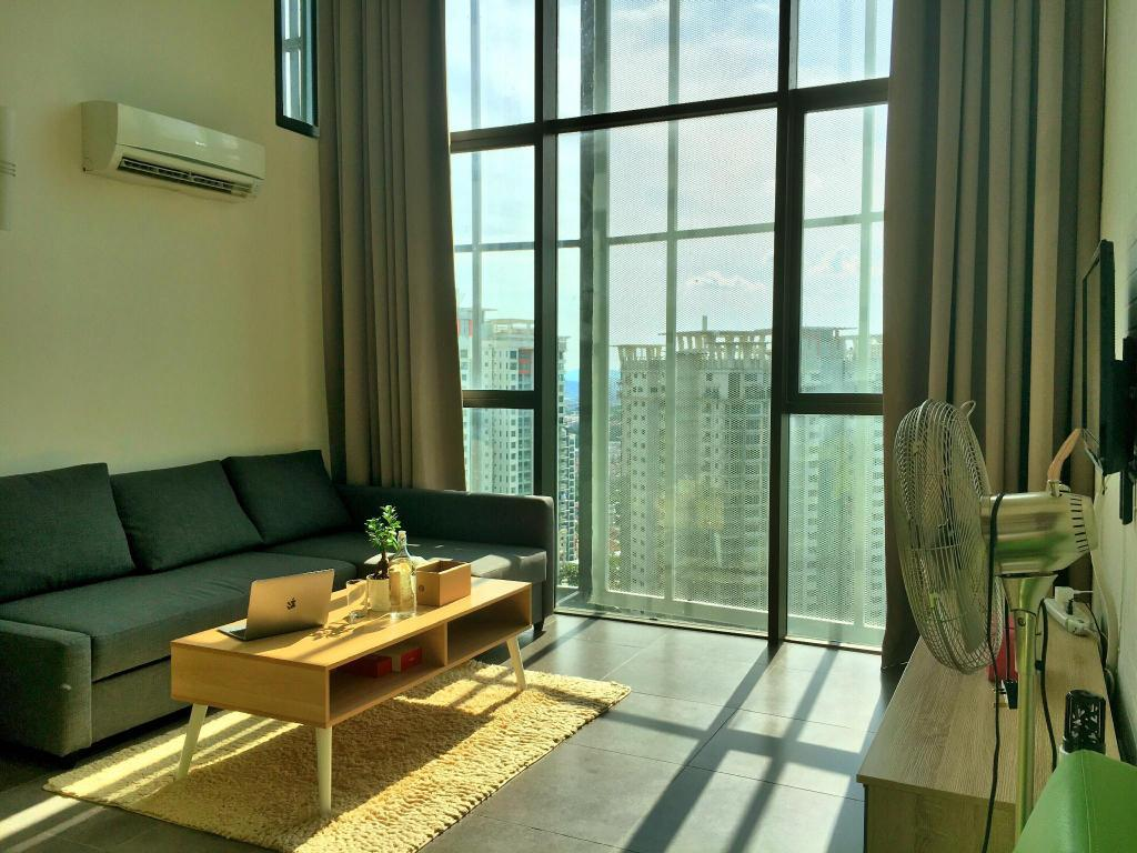 Apartment - Interior view 2-stories Scandinavian duplex @ Empire Damansara