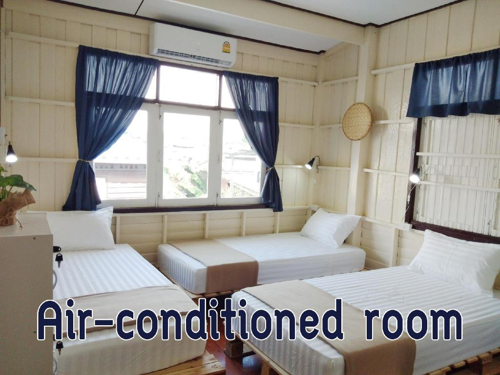 110кв.м 3, 4 баня Къща в Lopburi City Center (63 Hostel Lopburi)
