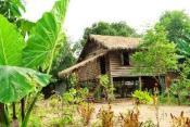 Traditional Cambodian House built by Khmer Rouige