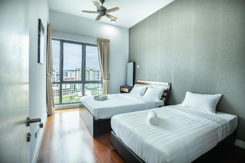 Lu Suite 01 City View Apartment The Loft Imago Kota