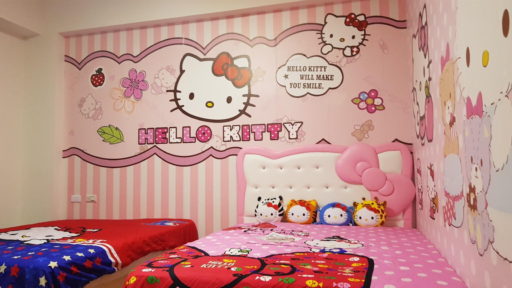 Wallpaper hello kitty untuk kamar