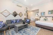 Designer, Serviced Huge Studio Apartment & Parking