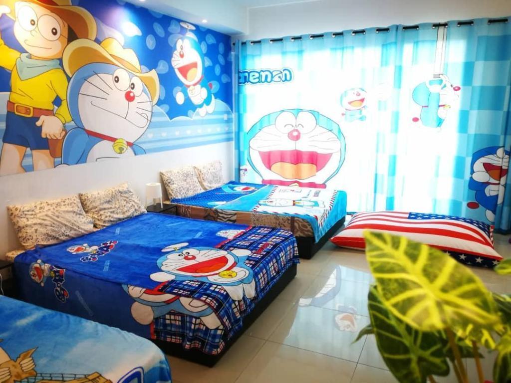 Best Price on Doraemon @ Vince's designer Suite with Pool