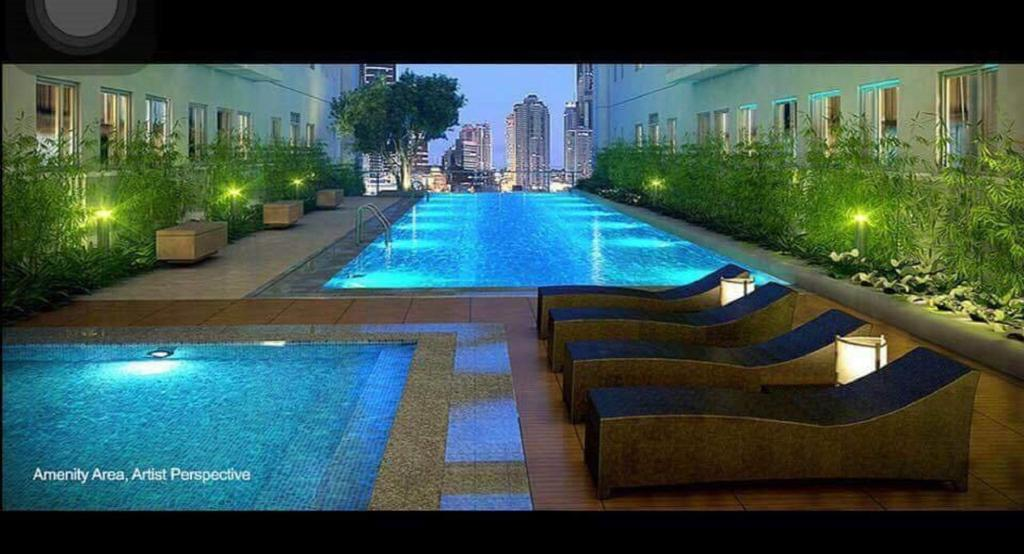Apartment - Swimming pool Green Residences Studio in Metro Manila w/Netflix