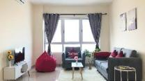 Cheras Mrt Link Bridge 2R1B 5Pax Cosy Family Suite