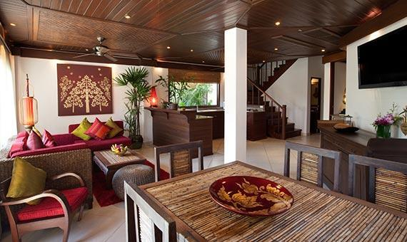 2 Bedroom Deluxe Thai Pool Villa with Breakfast