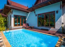 Private Pool Villa with breakfast