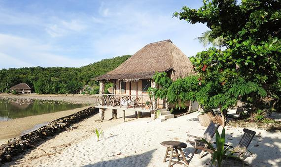 Sea View Beach Private Cottage with Breakfast (Free Night Promo)