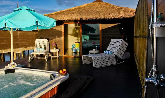 Water Villa with Breakfast and Roundtrip Land and Boat Transfers(Advance Holiday Package)**