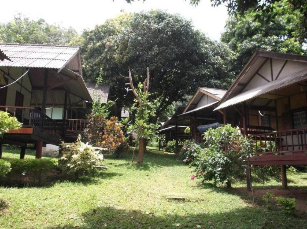 Balkon Pooltrap Village Bungalow