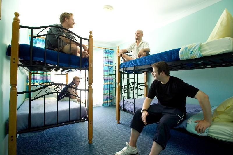 Bed in dormitory MALE ROOM