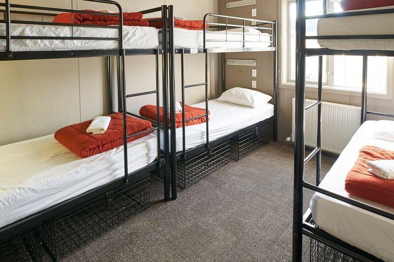Bed in dormitory CAPACITY 8