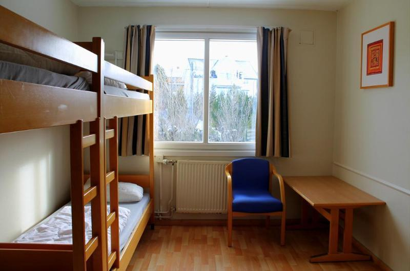 Bed in dormitory FEMALE WITH 6 SHARED SINGLE BEDS WITH SHARED BATHROOM