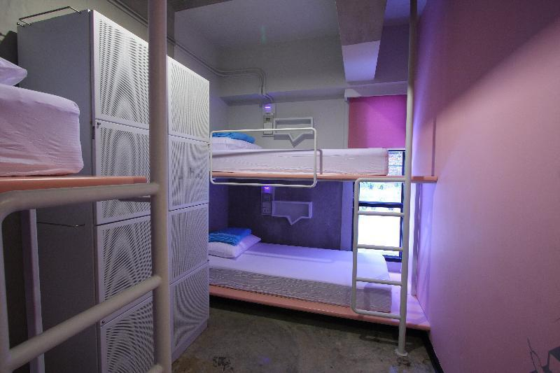 Bed in dormitory FEMALE ROOM